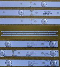 Kit 3 barre led sostitutive per tv Akai JS-D-JP3910-061EC JS-D-JP3910-071EC
