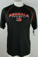 Cincinnati Bengals NFL Team Apparel Men's Black/Orange Performance Tee