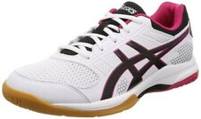 NEW ASICS Men's GEL-ROCKET 8 Low Volleyball Shoes TVR719 White Black Red