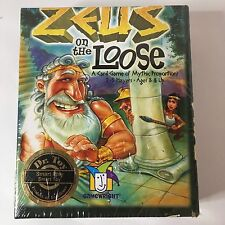 NEW Zeus On The Loose A Card Game Of Epic Proportions Strategy Gamewright