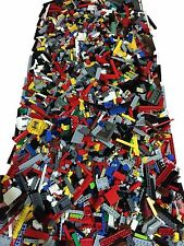2000+ Clean Lego Pieces 4lbs HUGE LOT- WITH 8 MINIFIGURES Washed and Sanitized
