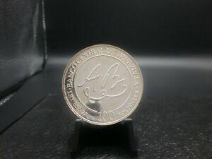 1981 Venezuela Proof 100 Bolivares World Silver Coin 90%