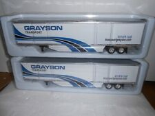 Lot Of 6 Tonkin  Diecast Trailers