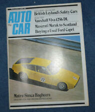 June Autocar Cars, 1970s Magazines