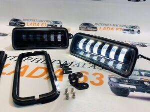 sidelights niva urban lada niva niva 4x4 taiga надфарники лада нива LED