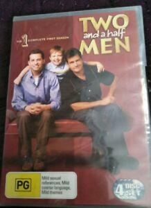Two and a half Men First Season One New and Sealed DVD Region 4 GC Free Shipping