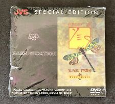 YES Magnification and House of Yes Rare 5.1 Surround Sound DVD Audio New Sealed!