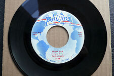 "7"" Carl Mann - Mona Lisa/ Foolish One - US Phillips"