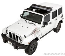 Bestop 52450-17 No-Drill Black Twill Sunrider fits Hardtop Jeep Wrangler JK