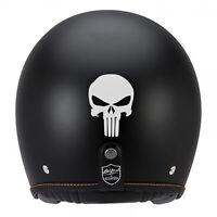 Sticker PUNISHER Réfléchissant pour signalisation sur casque, moto, scooter