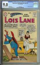 SUPERMAN'S GIRLFRIEND LOIS LANE #19 CGC 9.0 OW/WH PAGES