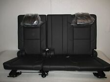 2015-2018 TAHOE SUBURBAN YUKON YUKON XL THIRD SEATS JET BLACK LEATHER NEW!!!
