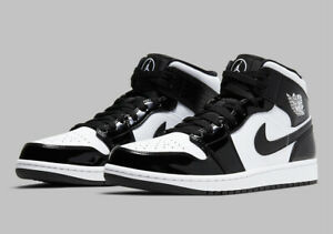 Nike Air Jordan 1 Mid SE ASW (GS) Carbon Fiber Black White DD2192-001 Youth NEW