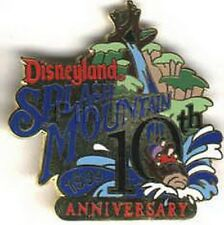 Splash Mountain 10th Anniversary ride Authentic Disneyland pin