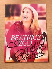 Beatrice Egli Schlager Autogrammkarte orig. signiert 9607