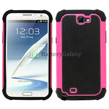 Hybrid Rugged Rubber Hard Case Cover for Samsung Galaxy Note 2 Hot Pin