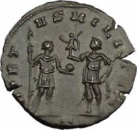 Aurelian  272AD Authentic Ancient Roman Coin Soldier with Victory  i45212