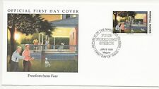 Army FDC's  - Marshall Isles - Freedom from Fear - 1991  (3303) (X)