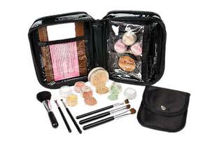 15pc Starter Kit (LIGHT) Mineral Makeup Foundation Set Bare Skin Powder Cover