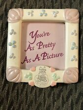 Precious Moments You're as Pretty as a Picture Magnet frame 2.25 x 2.25