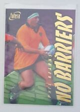 1996 Futera Rugby Union No Barriers insert card #NB6 Phil Kearns