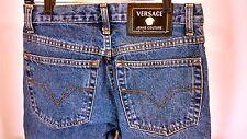 Vtg VERSACE COUTURE MEDUSA High Waist Jeans BootCut Medium Sz 3 Grunge 27x28 #75
