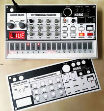 "Korg Volca Sample Skin / cover ""SAMPLE BLACK"""