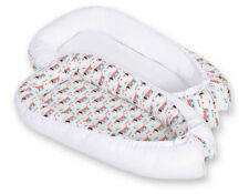 Newborn Double sided Baby Cocoon Sleep Nest Cushion Breathable Snuggle Pod Dogs