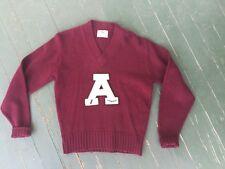 Antique Diving Varsity Letterman's Sweater Antique Old