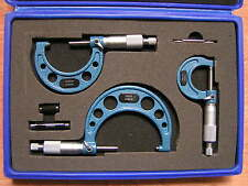 Outside Micrometer Set 0-75mm 'C'Type (Ratchet Stop Type)