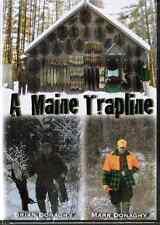 Dvd-Donaghy-A Maine Trapline, traps,Beaver,Otter, Mink, Muskrat, Marten, Fisher