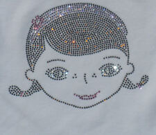 "6.7"" Doc McStuffin iron on Disney rhinestone hot fix TRANSFER for t shirt"