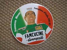 FRANCESCO MOSER ADESIVO CAMPIONE D' ITALIA 1981/82 FAMCUCINE CAMPAGNOLO