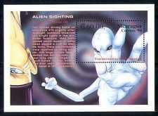 Nicaragua 1994 Aliens avistamiento/espacio/Sci-fi m/s n27398