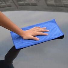 5X 40x40cm Microfibre Cleaning Car Auto Care Soft Cloths Clean Wash Towel Blue