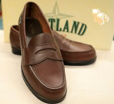New Eastland Providence Cinnamon Leather Penny Loafers Casual Shoe