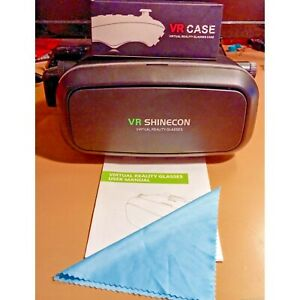 VR Shinecon Virtual Reality Glasses with Controller