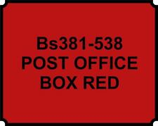 SPRAY CAN POST OFFICE RED HEAT RESISTANT PAINT BRAKE CALIPER ENGINE Proof HOT