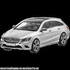 Mercedes Benz X 117 CLA Shooting Brake 2015 Plata polar 1:43 nuevo emb. orig.