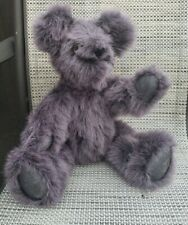 """Large Gund Phoebe Gray15""""Teddy Bear Collectible Posable Arms Legs Display Bear"""
