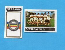FIGURINA PANINI 1972/73-n.503- VERBANIA - SCUDETTO+SQUADRA-Recuperata