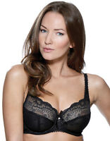 Brand New Charnos Lingerie Cherub Full Cup Lace Bra 0105010 Black VARIOUS SIZES