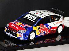 CITROEN C4 WRC #1 LOEB WINNER RALLY WALES 2009 (WORLD CHAMP.) IXO RAM401 1:43