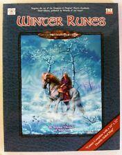 Winter Runes d20 D&D RPG NEW SC Troll Lord Games