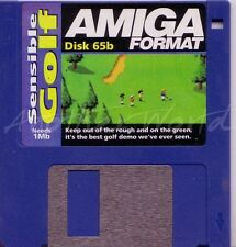 Amiga Format - Magazine Coverdisk 65b - Sensible Golf <MQ>