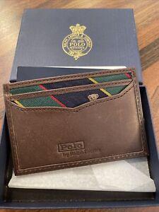 Polo Ralph Lauren Mens Card Holder Teddy