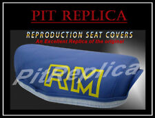 SUZUKI RM250 RM465 RM500 1981 1982 1983 SEAT COVER *BLUE* [STACS]
