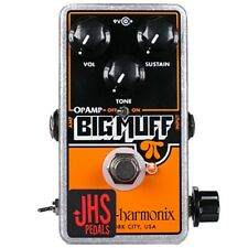 JHS EHX ElectroHarmonix OpAmp Big Muff Pi Pumpkin Patch Mod Guitar Effects Pedal