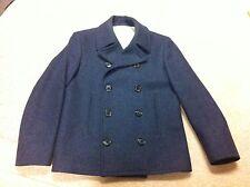 Mens BB1 Small Heather Blue Thom Browne Brooks Brothers Black Fleece jacket coat