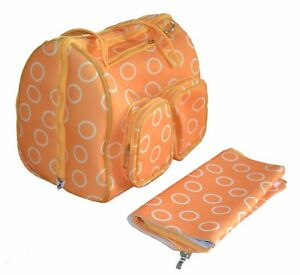 3 mm Neoprene Insulated Bottle Bag - Multi Functional Tote - Nappy Changing Pad